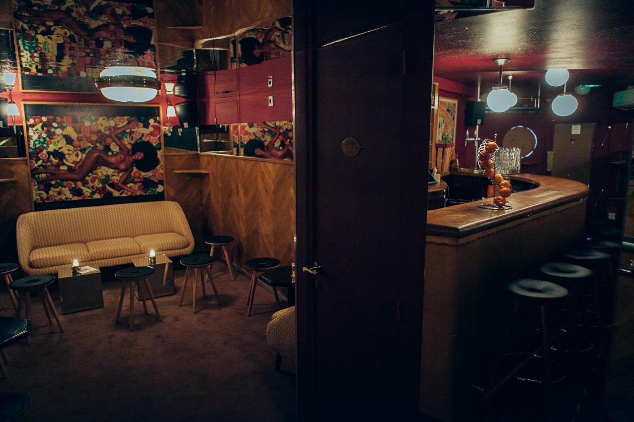 Mini Pong Pigalle, bars rétro